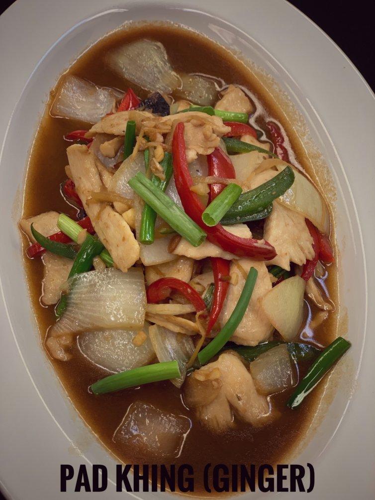 Pad Khing (Ginger)