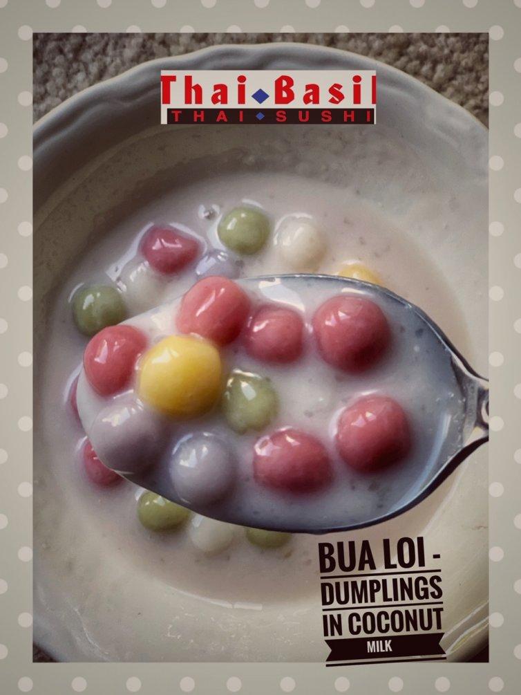Bua Loi – Dumplings in coconut milk