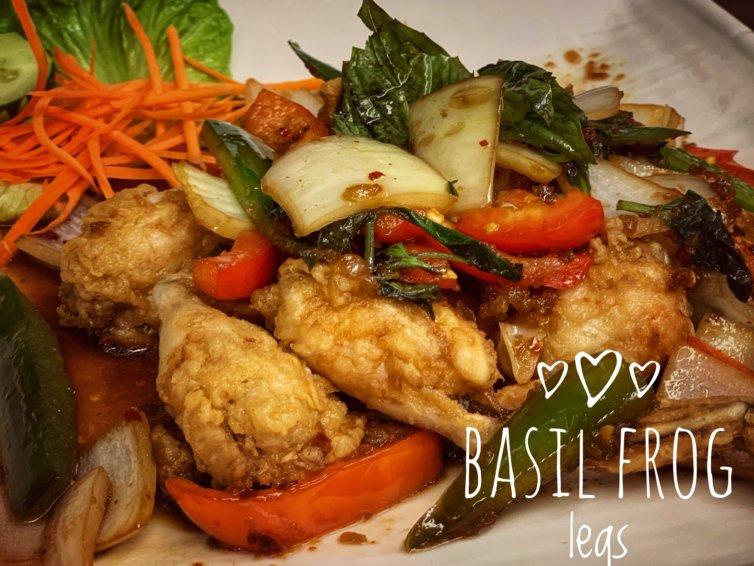 Basil Frog Legs