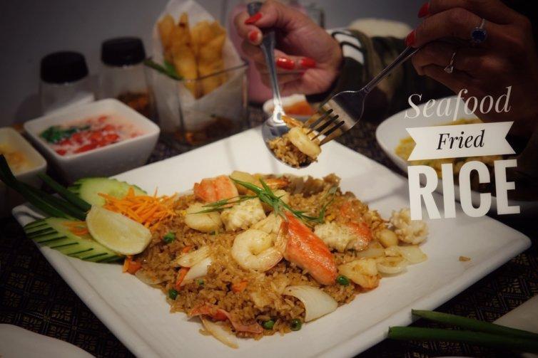 Sea food fried rice