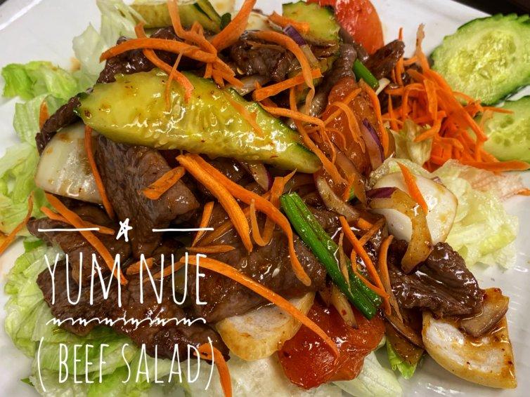 YUM NUE (THAI BEEF SALAD)