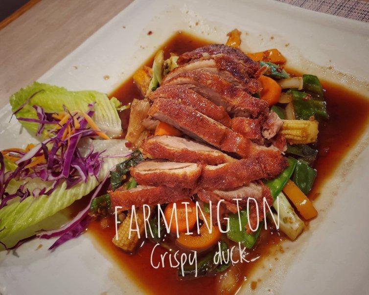 Farmington Crispy duck